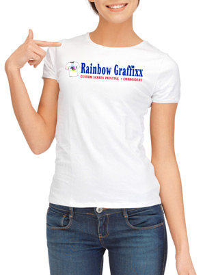 Rainbow Graffixx T-shirt