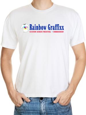 Rainbow Graffixx T-shirt
